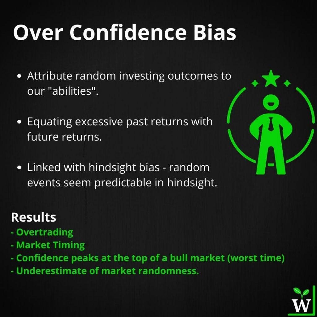 Infographic - Overconfidence Bias